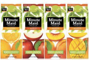 برندسازی مجدد آبمیوه کمپانی Minute Maid