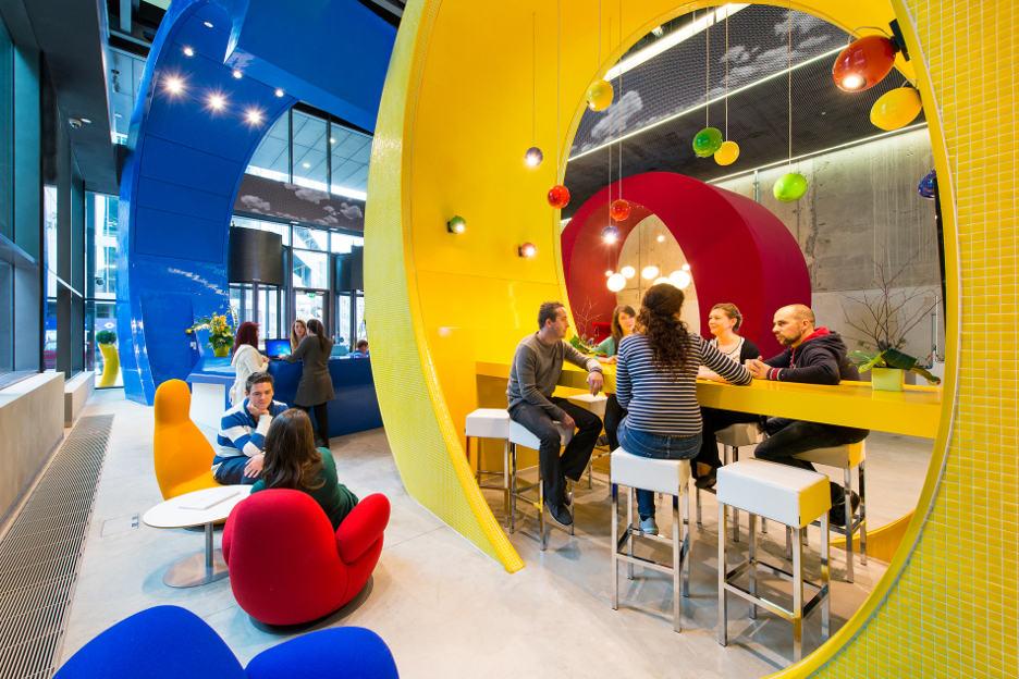 دفتر مرکزی شرکت گوگل