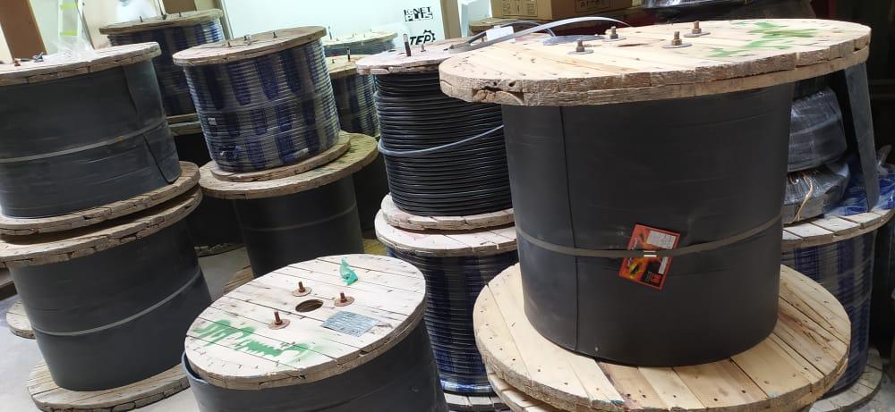 فروش انواع کابل آلومینیومی هوایی بدون روکش در ایلام